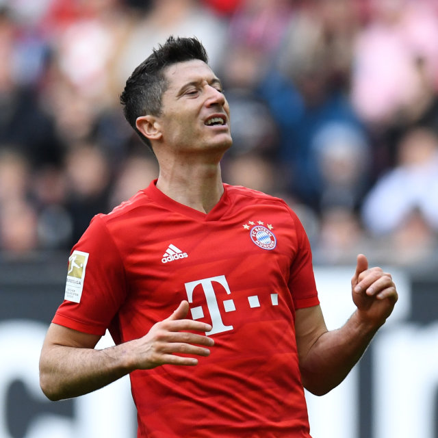 Penyerang Bayern, Robert Lewandowski