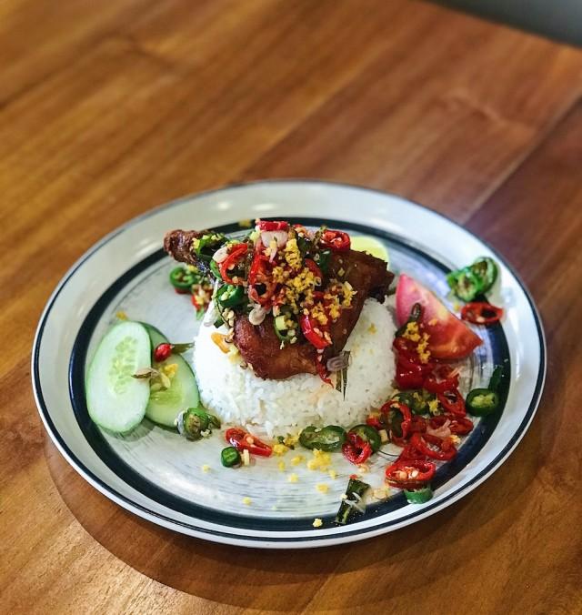 Nasi ayam sambal matah (Square).