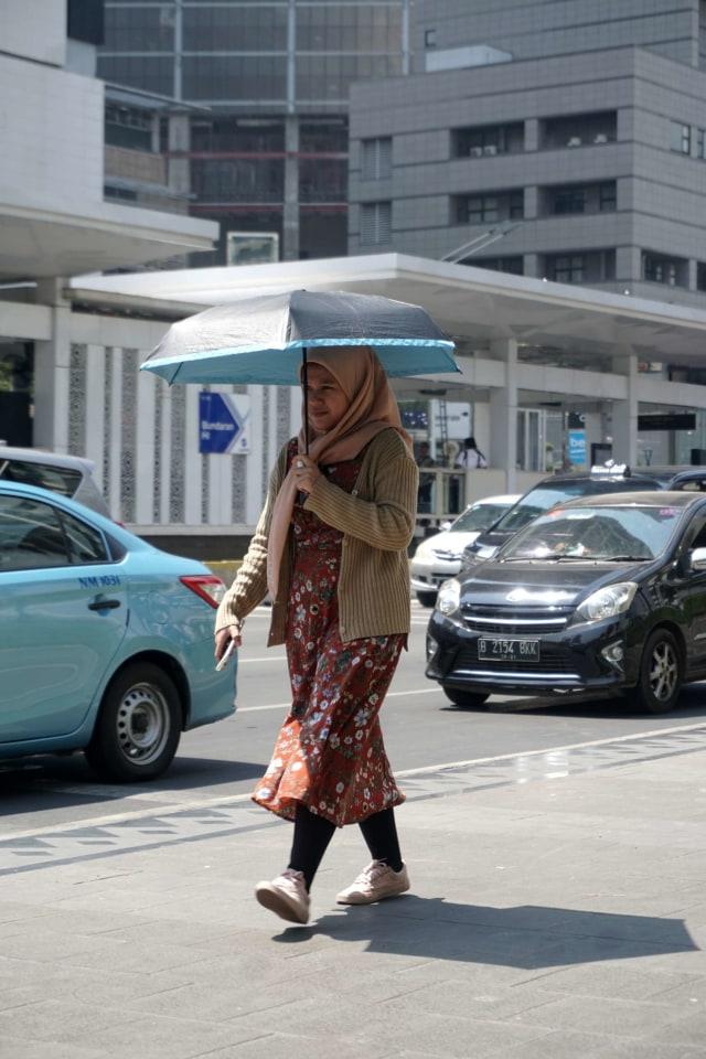 Cuaca Jakarta Panas