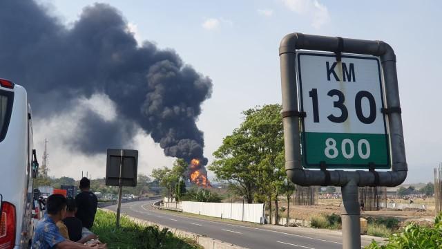 Fakta-fakta Kebakaran Pipa BBM Pertamina di Proyek Kereta Cepat (141813)