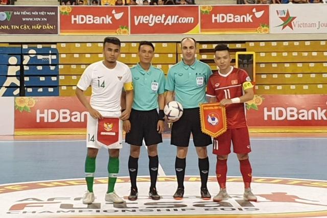 Timnas Futsal Indonesia melawan Vietnam