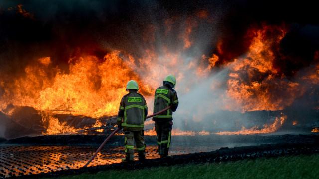 Pertamina: Penempatan Pipa yang Terbakar Berjarak Sesuai Aturan (7982)