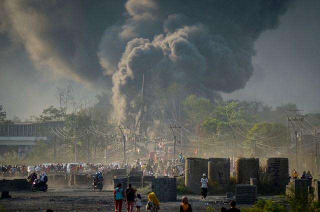 Polisi Telusuri Unsur Pidana Insiden Terbakarnya Pipa Minyak di Cimahi (592346)