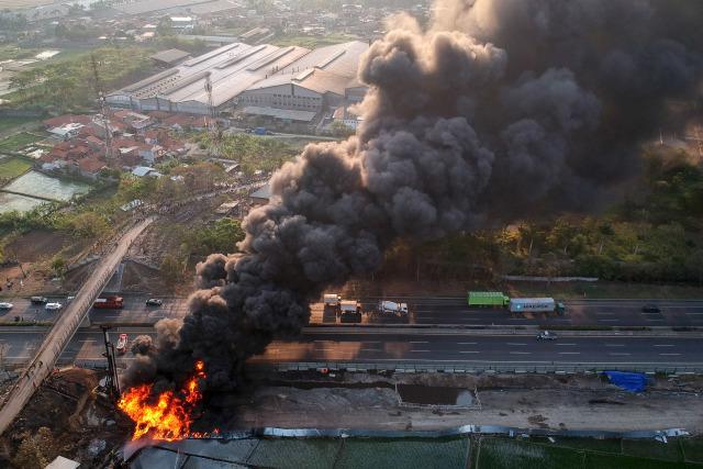 Fakta-fakta Kebakaran Pipa BBM Pertamina di Proyek Kereta Cepat (141812)