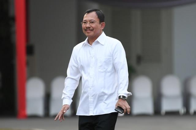 Pakai Baju Putih, Dokter Terawan Temui Jokowi di Istana (49266)