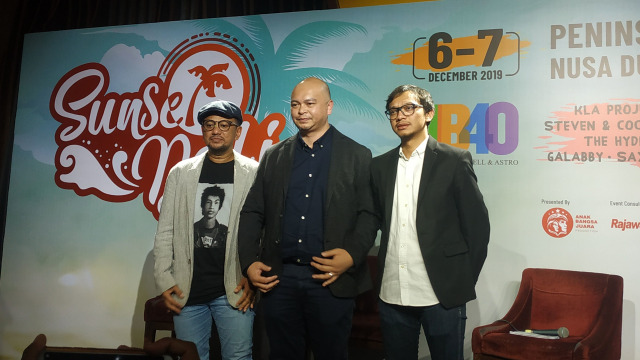 Sunset Bali Music Festival Hadirkan Band Reggae Legendaris UB40 (530544)