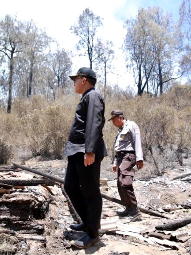 Atasi Kebakaran Ijen, Bupati Anas Minta Bantuan Water Bombing ke BNPB (19417)