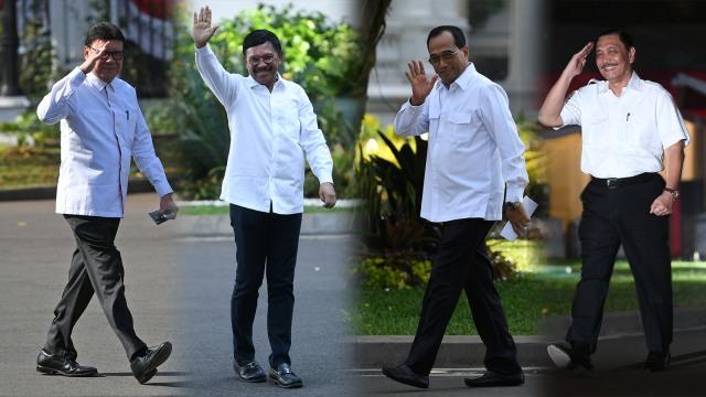 Menanti 34 Menteri Kabinet Jokowi-Ma'ruf (1206155)