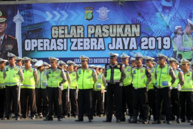 Fokus Operasi Zebra Jaya 2019: Kepemilikan SIM Pengendara Motor (350537)