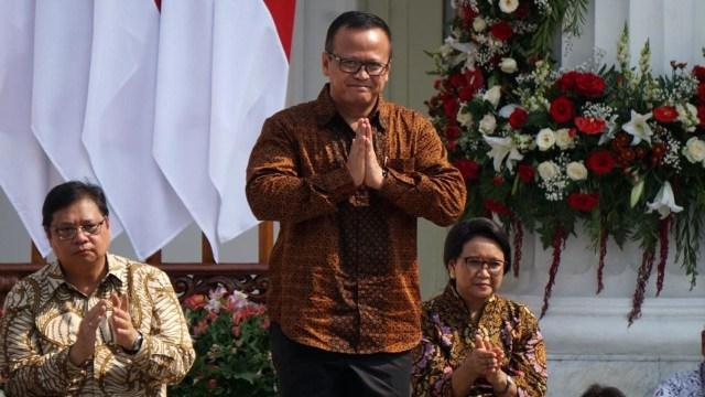 Menteri Kabinet Indonesia Maju, Edhy Prabowo