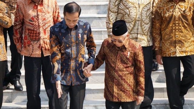 Kabinet Indonesia Maju, Jokowi dan Ma'ruf Amin