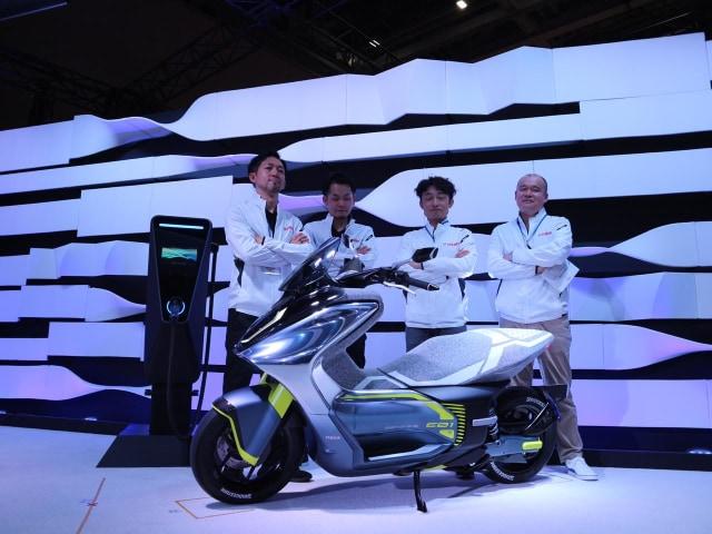 Motor Listrik Yamaha E01 Siap Masuk Dapur Produksi, Performa Setara Motor 125 Cc (50675)