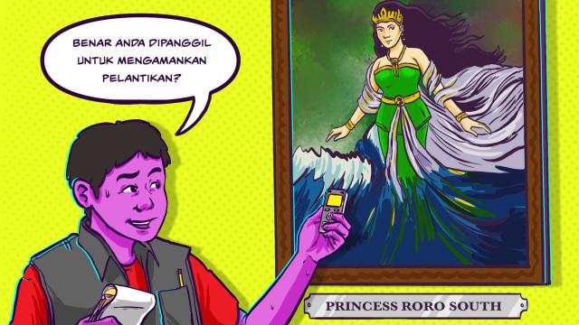 Wawancara Fiktif Bersama Nyi Roro Kidul soal Pelantikan Presiden (299420)