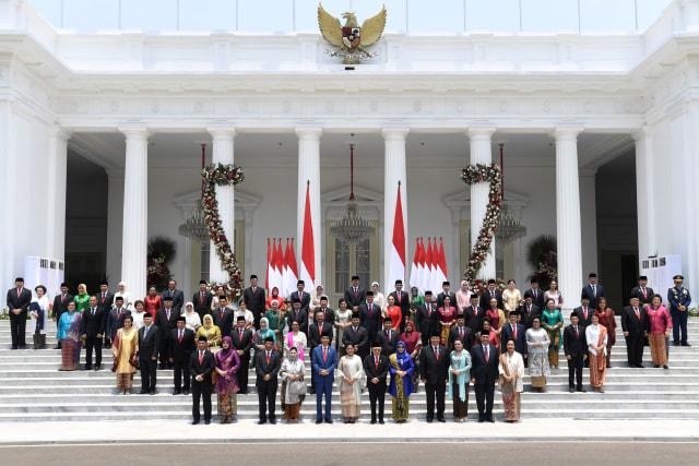 Menteri Kabinet Indonesia Maju, Foto Bersama
