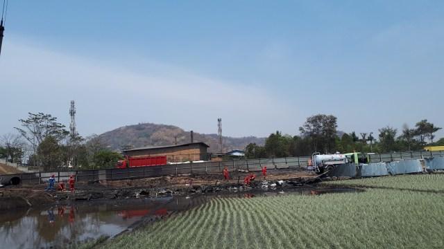Pipa Terbakar, Pertamina Mengaku tidak Mendapat Informasi Pengeboran (4550)