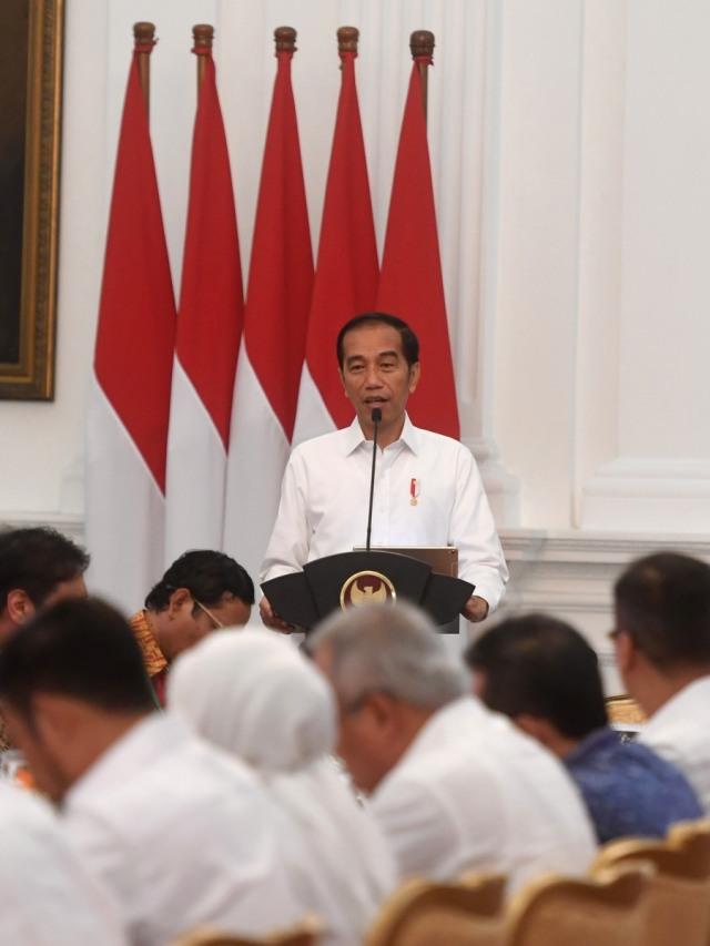 POTRAIT, Sidang kabinet paripurna perdana, Jokowi