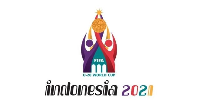 Logo Piala Dunia U-20 di Indonesia