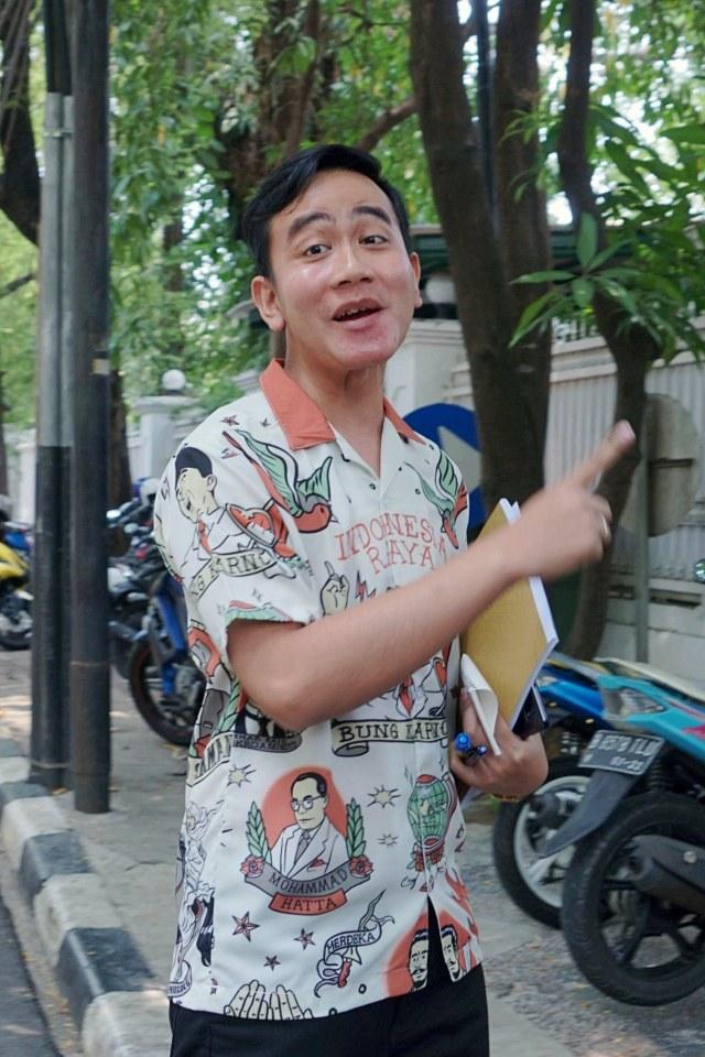 Gibran berkunjung ke rumah Megawati, Potrait
