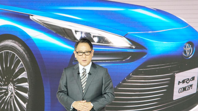 Presiden Toyota Motor Corporation, Akio Toyoda