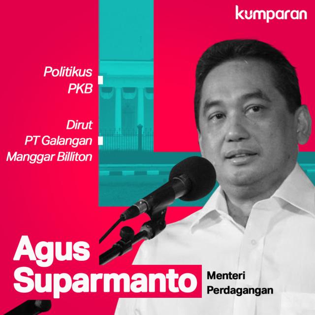 Infografik Menteri Agus Suparmanto
