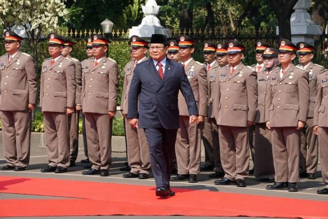 Sertijab Menteri Pertahanan, Prabowo Subianto