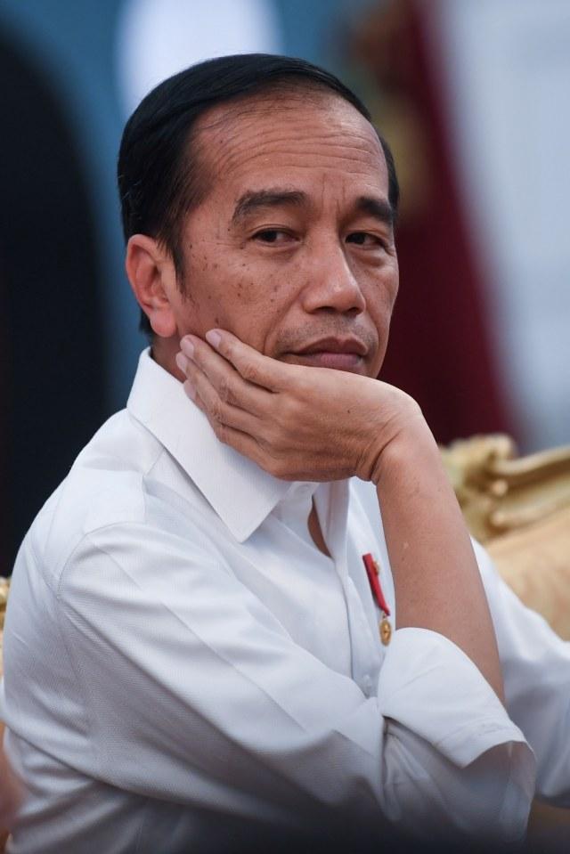 POTRAIT, Jokowi berdialog dengan wartawan kepresidenan