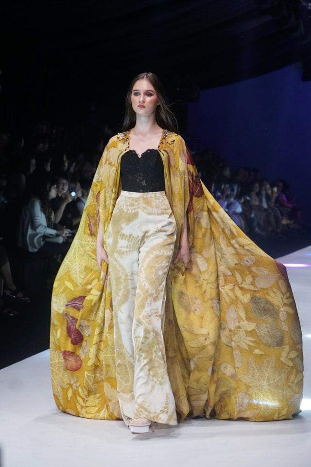 Konsep Eco Fashion dari Sumatra Utara Hiasi Jakarta Fashion Week 2020 (694658)