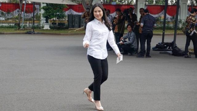 Angela Tanoe, Istana Kepresidenan