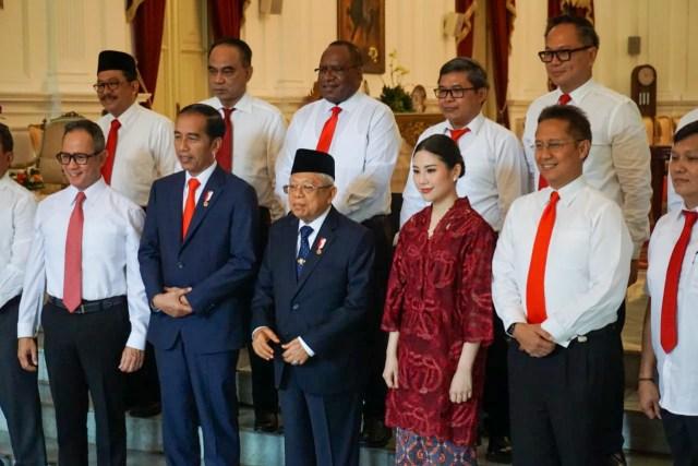 Wakil Menteri Kabinet Jokowi