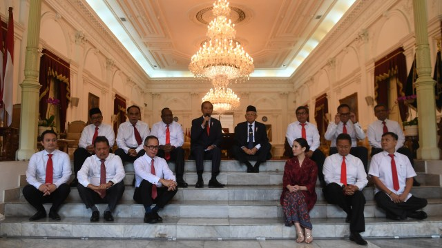 Wakil Menteri Kabinet Indonesia Maju, Istana Merdeka
