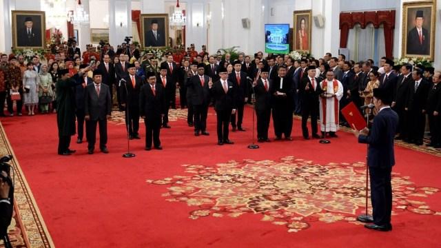 Pelantikan wakil menteri, Istana Merdeka