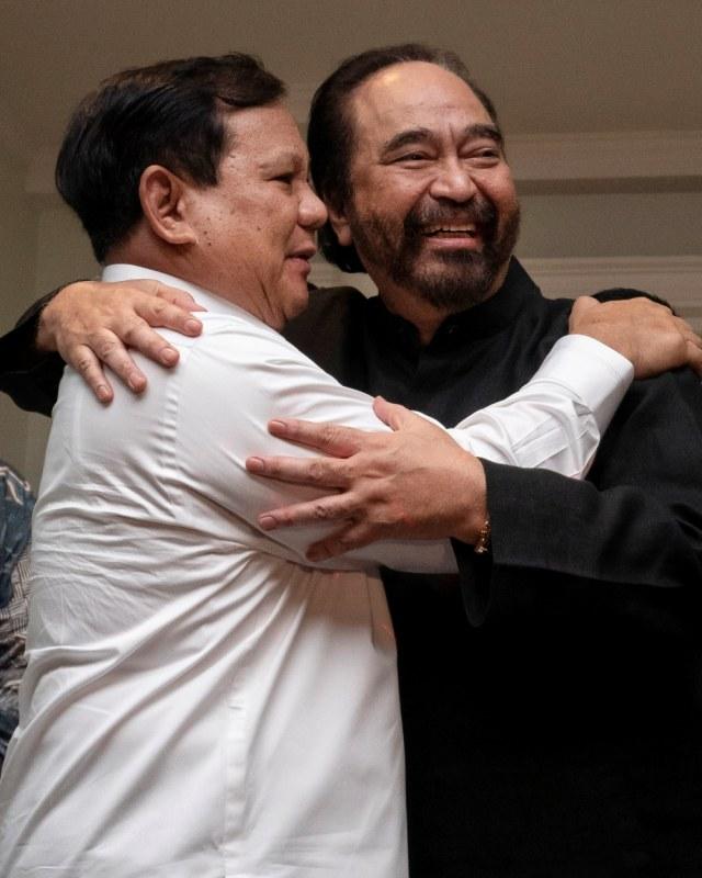LIPSUS Prabowo, Prabowo Surya Paloh, POTRAIT