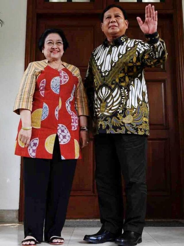 LIPSUS Prabowo, Pertemuan Prabowo Megawati, POTRAIT