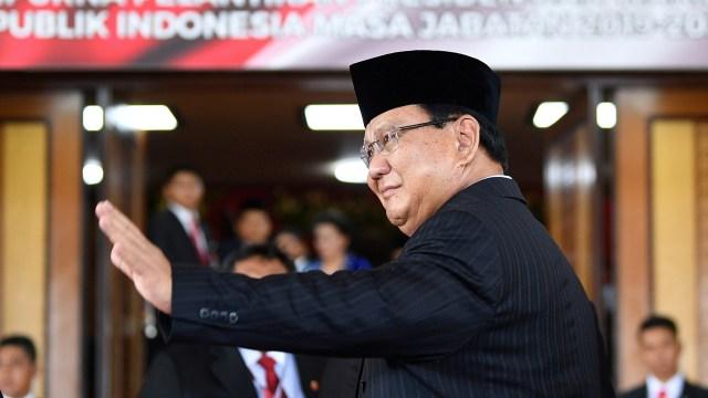 LIPSUS PRABOWO, Pelantikan Presiden Jokowi