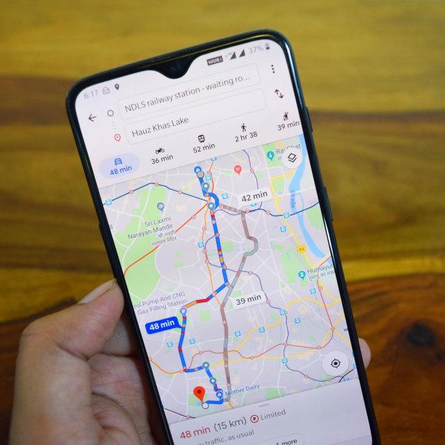 Google Maps (Portrait)