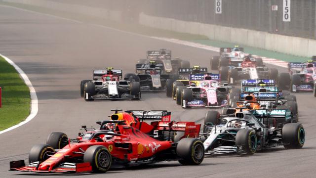 Mulai 2020, Desain Helm Formula 1 Tidak Dibatasi (40204)