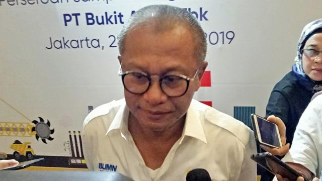 PT Bukit Asam Harap Subsidi LPG Bisa Dialihkan ke DME Gasifikasi Batu Bara (149960)