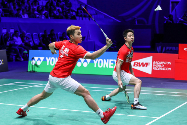 Fuzhou China Open: Singkirkan Ganda Jerman, Marcus/Kevin ke Semifinal (104957)