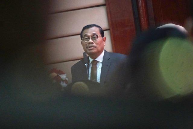Foto: Serah Terima Jabatan Jaksa Agung dari Prasetyo ke ST Burhanuddin (59268)