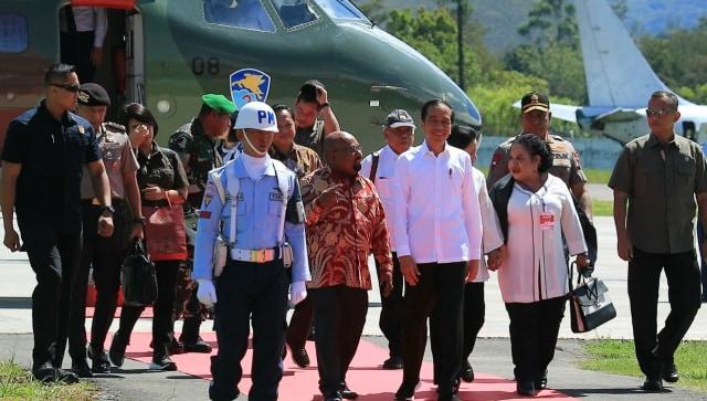 Jokowi Pastikan Pasar Wouma Wamena Kembali Berfungsi dalam 2 Minggu (104997)
