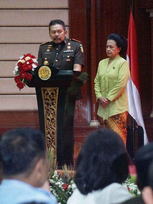 Foto: Serah Terima Jabatan Jaksa Agung dari Prasetyo ke ST Burhanuddin (59263)