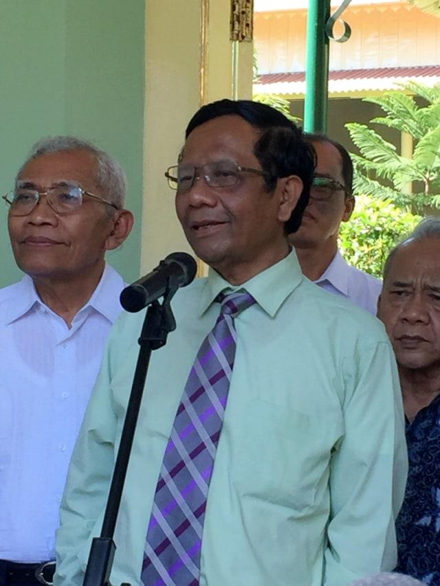 POTRAIT, Mahfud MD bertemu Gubernur DIY