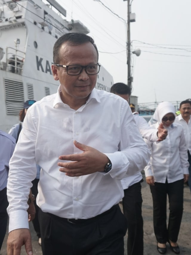 Edhy Prabowo, Pelabuhan Muara Baru, POTRAIT