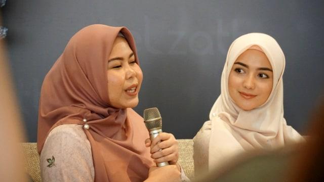 Elzatta & Citra Kirana Luncurkan Koleksi Hijab untuk Perempuan Aktif (436909)