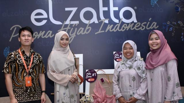 Elzatta & Citra Kirana Luncurkan Koleksi Hijab untuk Perempuan Aktif (436908)
