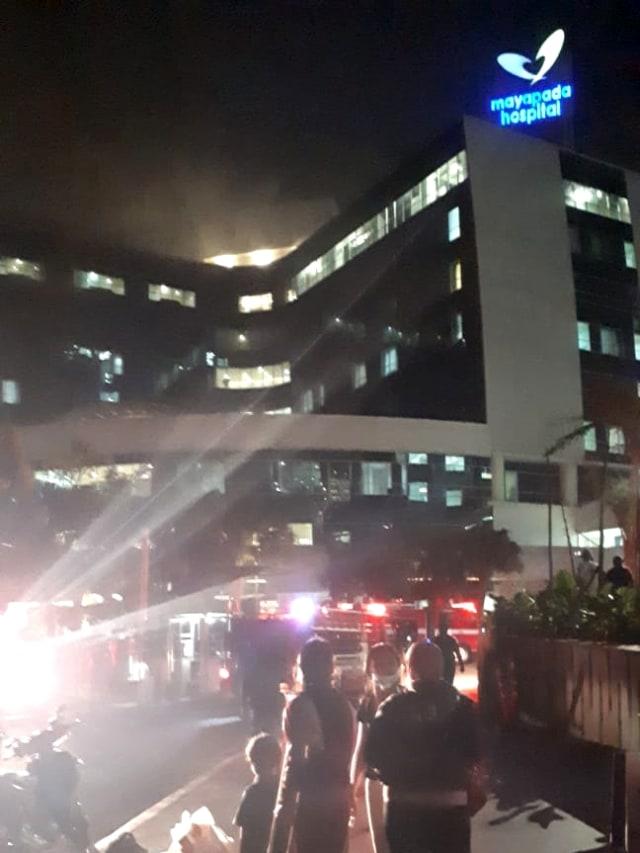 POTRAIT, Mayapada Hospital kebakaran