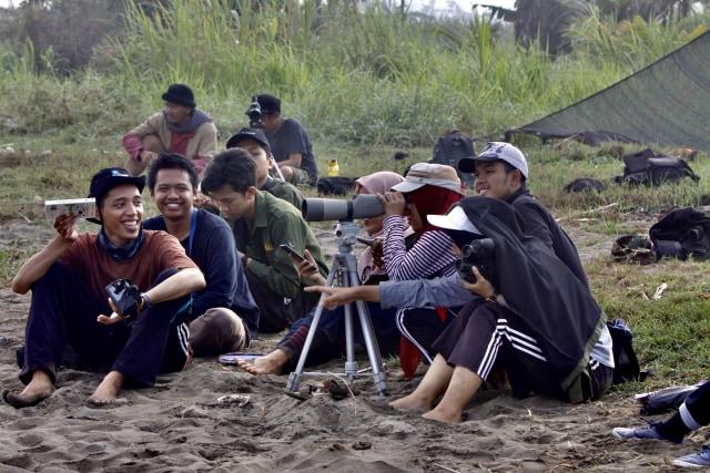 Cinta Mahasiswa untuk Burung Migran di Muara Kali Progo, Yogyakarta (615689)