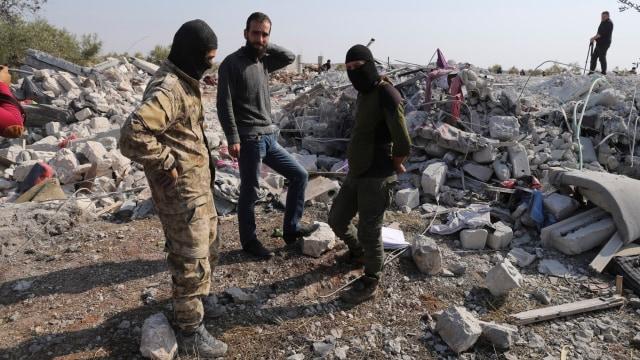 Video Serangan AS yang Tewaskan Baghdadi, Rumahnya Rata dengan Tanah (123543)