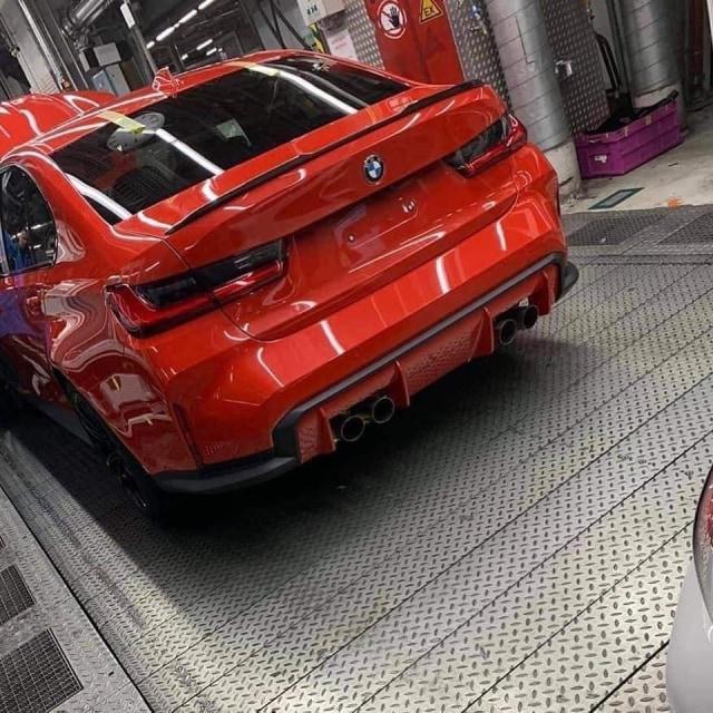 Bocoran tampilan BMW M3 G80