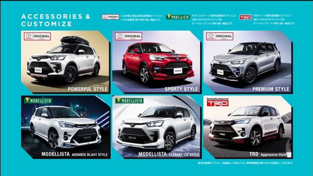 Terkuak, Ini Wujud Toyota Raize Kembaran Daihatsu Rocky (86702)